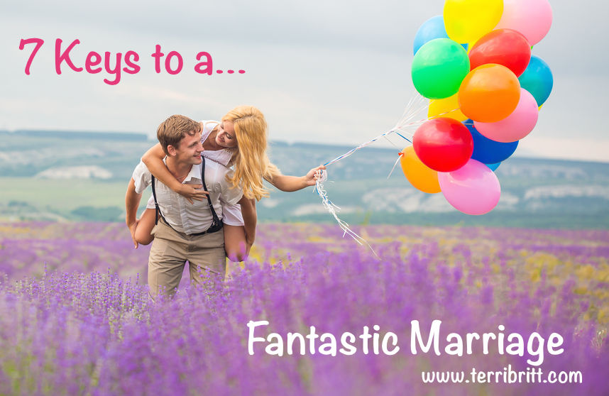 41608798 - happy young couple person walking on lavender field with color air balloons